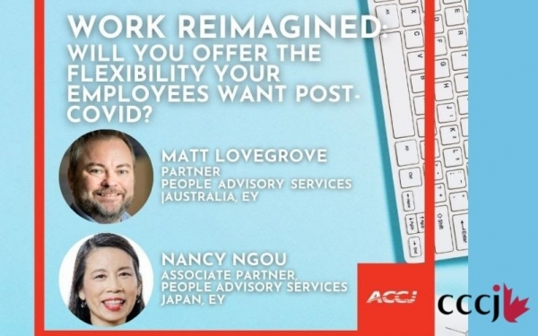 [Virtual] Work Reimagined: Will You Offer the Flexibility Your Employees Want Post-COVID? June 10 12:00-13:00