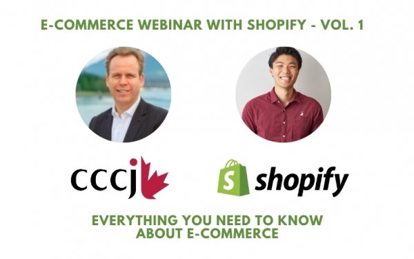 E-Commerce Webinar with Shopify - Vol. 1